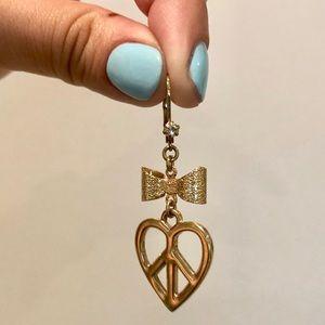 Juicy Couture Vintage Dangle Earrings